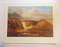 OPEN EDITION PRINT OF MONTMORENCY FALLS, QUEBEC, CANADA