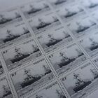 FEUILLE SHEET TIMBRE ŒUVRES DE LA MARINE N°752 x25 1946 NEUF ** LUXE MNH