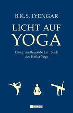 Licht auf YOGA, grundlegendes Lehrbuch für Hatha- Yoga, neu