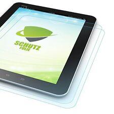 2x Displayschutzfolie für Samsung Galaxy Tab S3 9.7 T820 T825 + Poliertuch Hülle