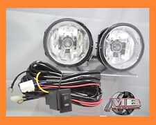 Fits 2001 2004 Nissan Frontier Clear Fog Lights Lamps Pair w Wiring Switch