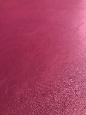 Large Half Hide Of Purple Upholstery And Craft Leather