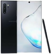 Samsung Galaxy Note 10 Plus - 256GB - Aura Black Dual Sim (Unlocked) •SEALED•