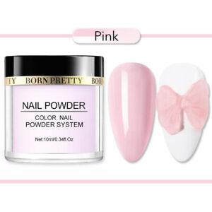 BORN PRETTY 10ml Nail Dipping Powder Glitter Dip System Liquid Nail Art Starter