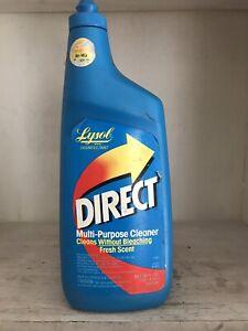 Vintage Lysol Direct Multi-Purpose Cleaner Fresh Scent Movie 36 oz TV Prop