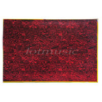 Guitar Pickguard Material Blank Plate Sheet for Bass Parts  3 Ply Red Tortoise