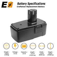 18V 18 VOLT 2.0AH Battery for Craftsman Cordless Drill NiMh