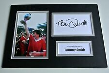 Tommy Smith SIGNED autograph A4 Photo Mount Display Liverpool Football & COA