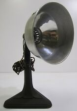 Vtg Prometheus Electric Industrial Medical Table Lamp Adjustable Aluminum Head