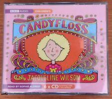 Jacqueline Wilson CANDYFLOSS 6x CD BBC Audiobook Sophie Aldred VGC