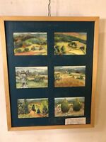 """Painting Watercolor Heaven&Earth Emma L.Martin 17""""X21"""""""".12pix4details.MAKE OFFER"""