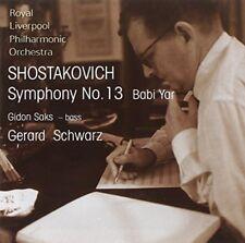Gerard Schwarz - Shostakovich Symphony No 13 Babi Yar [CD]