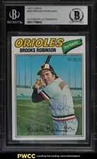 1977 Topps Brooks Robinson #285 BVG Auth