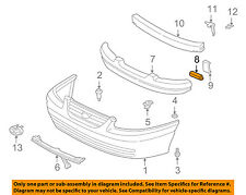 TOYOTA OEM 97-01 Camry Front Bumper-Energy Absorber Reinforcement 5213233020