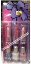 NATURISTICS* 6pc Gift Set COSMETIC Lipgloss+Nail Polish STOCKING STUFFER Makeup