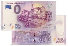 Tübingen - Neckarfront 2018-1 Null Euro Souvenirschein| € 0 Euro Schein Billet