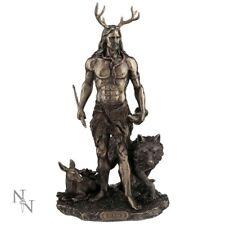 Herne and Animals God of Hunt Celtic Figurine Wicca Altar Statue Nemesis Now