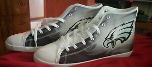 Philadelphia eagles High Top Shoes Size (12)