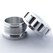 """2"""" 50 mm visita in alluminio saldatura SUL COLLO DEL BOCCHETTONE Tappo & Olio Combustibile Serbatoio acqua refrigerante cella"""