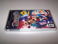DISGAEA AFTERNOON OF DARKNESS - Sony PSP - UK PAL - NEW & FACTORY SEALED