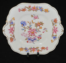 VINTAGE AYNSLEY BONE CHINA HANDLED CAKE PLATE