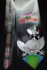 L@@K! Pinky and The Brain Necktie - Taking over the world since 1993