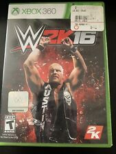 WWE 2K16 (Microsoft Xbox 360, 2015) FREE SHIPPING!!!