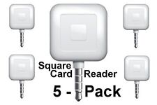 5 Pack - Square Card Readers -Accept Payments Everywhere