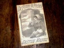la femme du pêcheur chanson partition pour chant 1900 Gaston Maquis