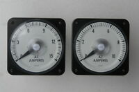 AC Amperes Meter (Lots of 2)