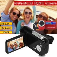 """Appareil photo numérique professionnel 16 millions pixels DVR 1080P HD LCD 2"""" FR"""