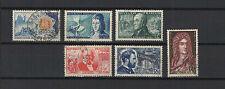 FRANCE 1955  6 timbres oblitérés /T1881