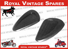 PETROL TANK KNEE PADS SUITABLE FOR ROYAL ENFIELD TANK C5/CLASSI