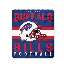 Buffalo Bills Football Fleece Throw Blanket New Design  50'' x 60''