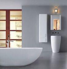 "Bathroom Pedestal Sink - Single Pedestal Sink - Modern Sink - Fiori II - 21.65"""