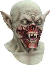 Vampiro Kurten sangriento Scary Halloween Máscara de Latex Cabeza & en el pecho