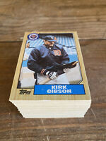 (100) 1987 Topps Kirk Gibson #765 Detroit Tigers NM-MT+