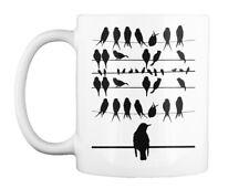 Machine washable Black Birds Gift Coffee Mug Gift Coffee Mug