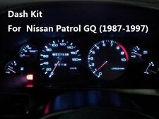 Suits Nissan Patrol GQ (1987-1997) Dash Wedge Bright LED Light Bulb Kit + Bonus