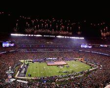 2014 Super Bowl XLVIII METLIFE STADIUM Seattle Seahawks vs Broncos 8x10 photo