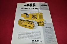 Case  Tractor 420 Industrial Drawbar Tractor Dealer's Brochure NHMN