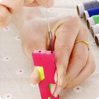 6Pcs/Set Automatic Needle Threader Thread Guide Elderly Use Device Sewing Tool P
