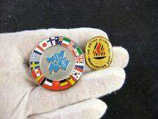 British Olympics Manchester Bid 2000 and London 2012 Pin