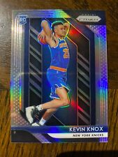 2018-19 Panini Prizm Kevin Knox SILVER Prizm RC #217, Knicks Rookie!