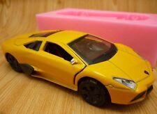 Lamborghini Super Car Chocolate Clay Silicon Soap Cake Mold Diy Silicone Mould