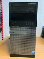 Dell OptiPlex 9020 MT Tower i7 4770 @ 3.40GHz, 8GB RAM, 500GB HDD, Win 10 Pro