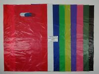 "High Density Bags 12"" x 3"" x 18"" Variety of Colors & Qty. Merchandise Retail"
