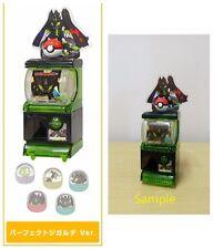 Tomy Pokemon XY&Z Mini vending machine gashapon Capsule Perfect Zygarde
