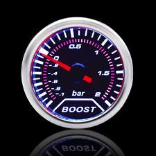 "Universal Car LED Vacuum Pressure Racing Pointer Bar Turbo Boost Gauge 2"" 52mm"
