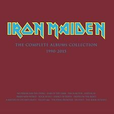 NEW (SEALED) Iron Maiden THE COMPLETE ALBUMS COLLECTION 1990-2015 Box set 2 LP
